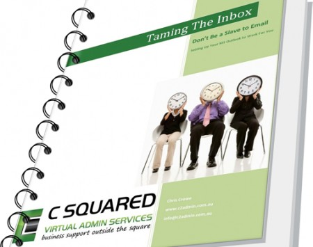 Taming the Inbox ebook cover